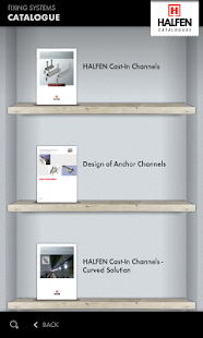 HALFEN Catalogues - screenshot