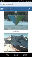 Screenshot of Open Snow Ski Forecasts