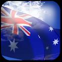 3D Australia Flag icon