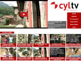 Screenshot of Castilla y León Televisión