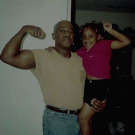 The Gun Show by Michael Griffin - People Family ( love, family, happy, daughter, father )