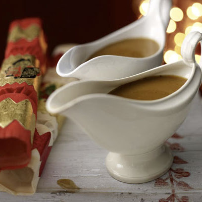 Gravy for the Christmas turkey