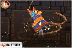 Screenshot of Fruit Ninja: Puss in Boots