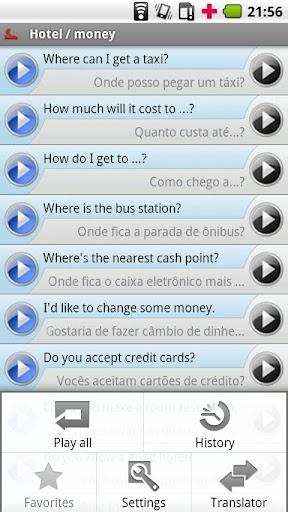 【免費旅遊App】iSayHello 英语 - 葡萄牙语/拉丁语-APP點子
