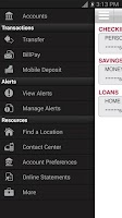 Screenshot of Bank of Texas Mobile