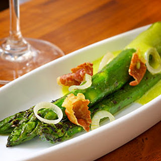 Grilled Asparagus with Sorrel Hollandaise