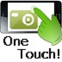One touch taking a picture icon