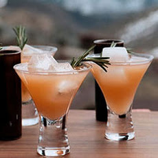 Rosemary Ruby Cocktails