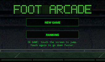 Screenshot of Foot Arcade Game Ranking Free