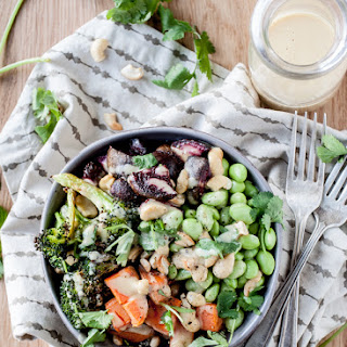 Winter Nourish Bowls With Orange-Ginger Miso Sauce + An Announcment