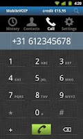 Screenshot of Rynga - Cheap Android Calls