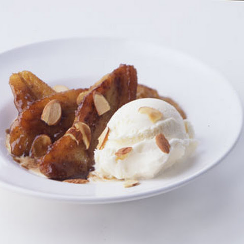 Caramelized Banana with Rum Sauce