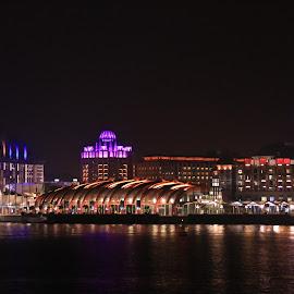 Night Skyline of Sentosa by Michael Loi - Novices Only Landscapes ( skyline, sentosa, night, sg, singapore )
