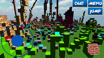Screenshot of ShareLand Online MineCraft