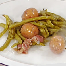 Southern-Style Green Beans with Bacon and New Potatoes