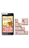 Screenshot of Rilakkuma Clock Widget 2
