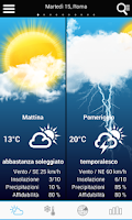Screenshot of Weather for Italy