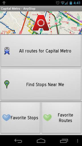 Capital Metro Austin: AnyStop