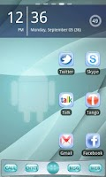 Screenshot of Sensation Go Launcher EX Theme