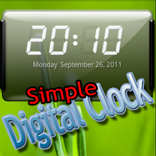 Maux simple Digital Clock