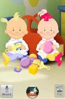 Screenshot of Talking Baby Twins