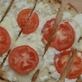 Three-Cheese White Pizza
