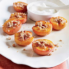 Honey-Roasted Apricots with Amaretti Cookies