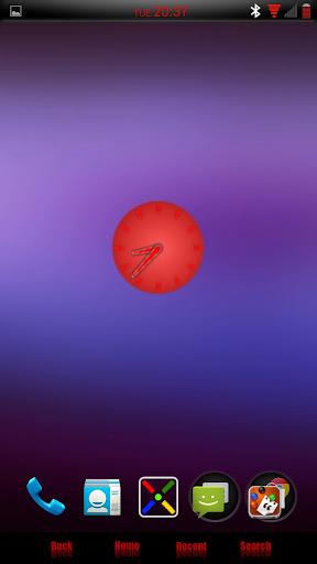 CM9 10 AOKP Theme LiAn Red