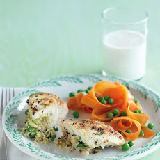 Chicken Breasts Stuffed with Herbed Couscous