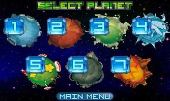Screenshot of Alien March