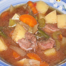 Baby's Vegetable and Beef Soup for the Crock Pot