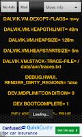 Screenshot of Test Phone Info