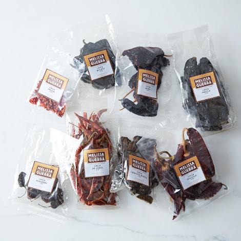Dried Mexican Chile Peppers