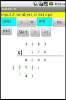 Screenshot of Improve Math Power