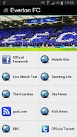 Screenshot of Everton FC News+