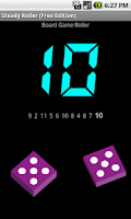 Screenshot of Steady Roller, for Board Games
