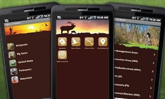 Screenshot of NE Fish & Wildlife Guide