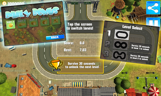 Car crash racing Crashy Smashy - screenshot