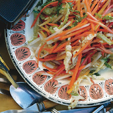 Carrot Cabbage Slaw with Cumin Vinaigrette