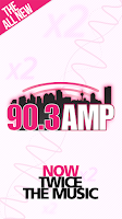 Screenshot of 90.3 AMP Radio