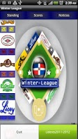 Screenshot of WinterLeague