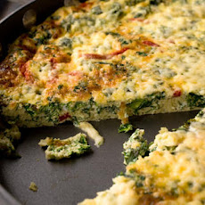 Kale and Roasted Red Pepper Frittata Recipe