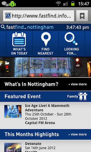 【免費旅遊App】Fastfind Nottingham City Guide-APP點子