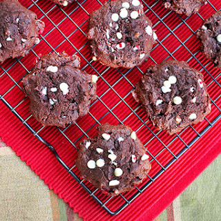 Cocoa Peppermint Cookies