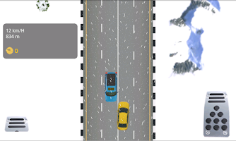 Screenshot of Car Racing Winter