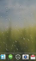 Screenshot of Rain drop live wallpaper