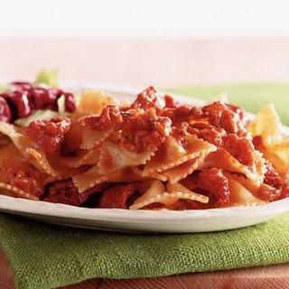 Bowtie Pasta With Salami Recipes