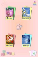 Screenshot of Learning Baby - 4 Seasons