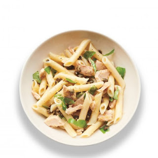 Tuna, Caper, and Basil Penne