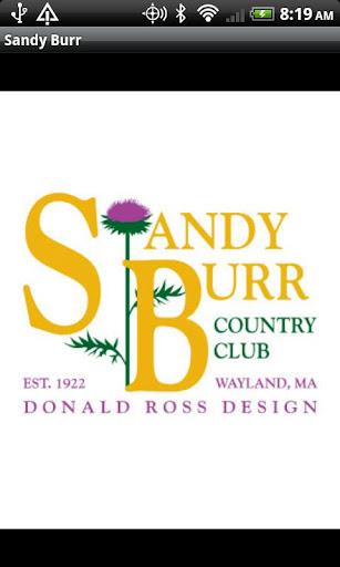 Sandy Burr Country Club MA